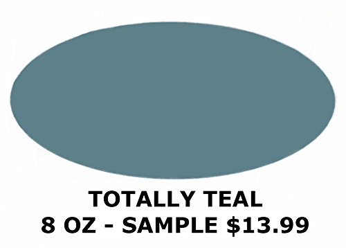 Chalked Finish Paint (Totally Teal 8oz Sample)