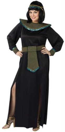 Fun World cleopatra adult plus Black (Fun Group Costumes)