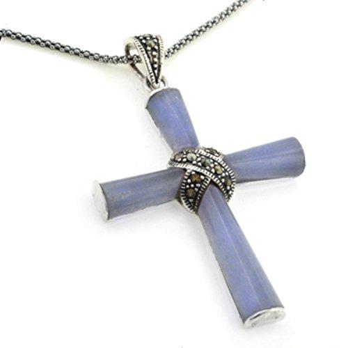 Jade Purple Cross - 1