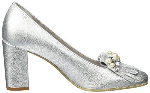 Kennel und Schmenger SchuhmanufakturKaren - Zapatos de Tacón Mujer Silber (light Silver/crystal)