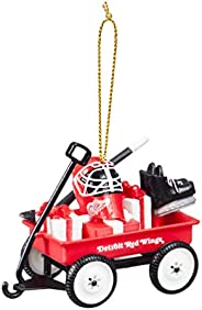 Team Sports America Detroit Red Wings Team Wagon Ornament