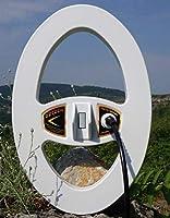 DETECH Monoloop - Bobina para detectores de Metales Minelab GPX, GP, Serie SD con Protector de Bobina Incluido (38 x 25 cm)