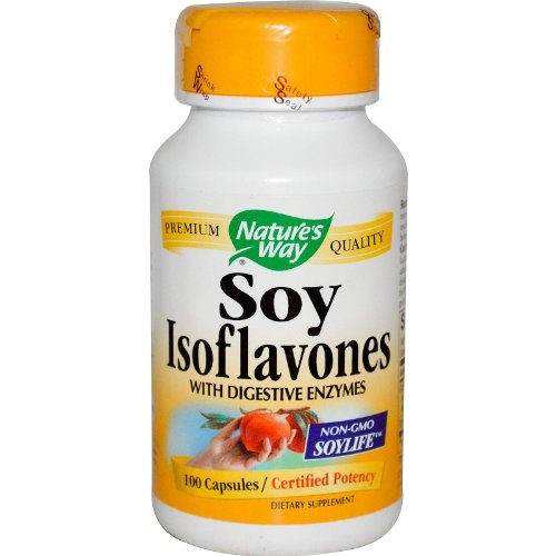 Natures Way Isoflavones Digestive Enzymes