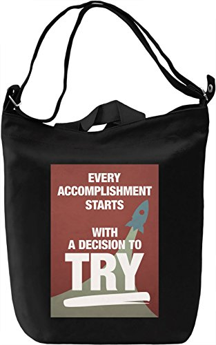 Decision to try Borsa Giornaliera Canvas Canvas Day Bag| 100% Premium Cotton Canvas| DTG Printing|