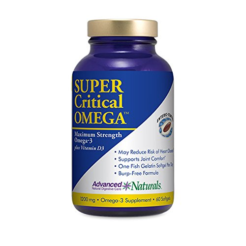 Cheap Advanced Naturals Super Critical Omega, Maximum Strength Omega-3 with Vitamin D3, 60 Count