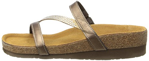 Naot Women's Hawaii Wedge Sandal, Grecian Gold Leather, 39 EU/7.5-8 M US by NAOT (Image #5)