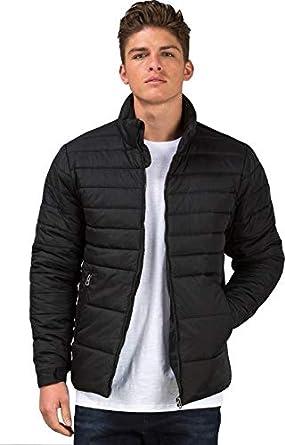053fdb16e Ben Martin Men s Quilted Jacket-(BMW-JKT-FS-18012-BLK)  Amazon.in ...