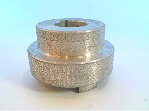 1SS Over Keyway Set Screw Locking MAGNALOY COUPLINGS M400-11612 Coupling 1 1//2 INCH BORE Size 400 HUB 3//8 Keyway