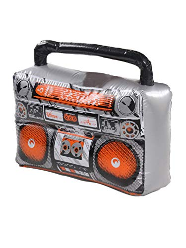Party Box Halloween Costumes (Amscan 842116 Inflatable Boom Box Costume Accessory, One Size,)