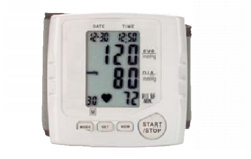 Blutdruckmessgerät Blutdruck und Puls Durchschnittsanzeige
