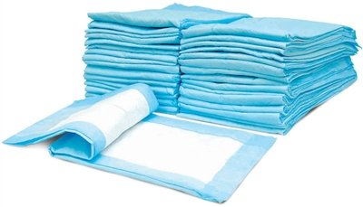Dog Puppy 23x36 Pet Housebreaking Pad, Pee Training Pads, Underpads - 50 ()