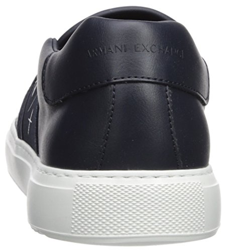 Armani Men X A Slip on Exchange Perforated Navy Sneaker 1pAwq