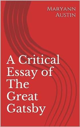 gatsby critical essay