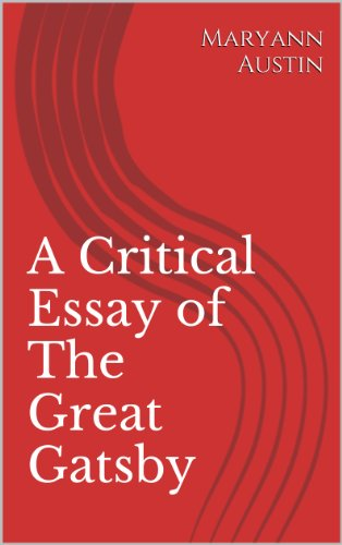 Essays On Health A Critical Essay Of The Great Gatsby Literary Criticism Book  By Austin Science Essay Ideas also Essay On Religion And Science Amazoncom A Critical Essay Of The Great Gatsby Literary Criticism  Business Ethics Essays