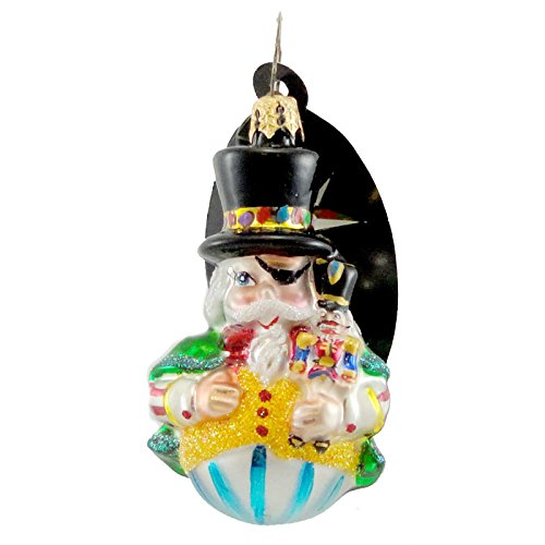 Christopher Radko SWEET SUITE Blown Glass Ornament Gem Nutcracker - Ornaments Radko Nutcracker