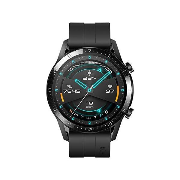 HUAWEI Watch GT 2 Smartwatch 46 mm, Durata Batteria fino a 2 Settimane, GPS, 15 Modalità di Allenamento, Display del… 1