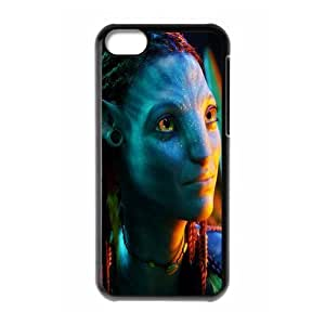 Cool Customized Hollywood Sci-Fi Movies Avatar iPhone 5c Case Cover ,Plastic Shell Hard Back Cases Gift Idea At CBRL007