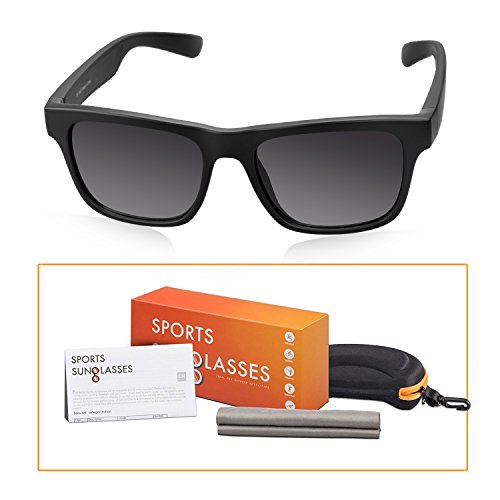 Sports Sunglasses, M-Better Floatable Sunglasses for Men or Women TR90 Unbreakable Frame Eyewear For Cycling Running Driving Fishing Golf Baseball Swimming and Other Water - Ray Bans Lost Warranty