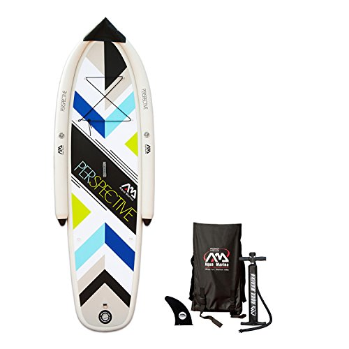Aqua Marina Perspective New Beginner Inflatable Stand-up Paddle Board