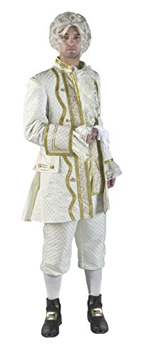 Mozart Amadeus Costume (Deluxe King of France Louis 16th Theatrical Quality Costume,)