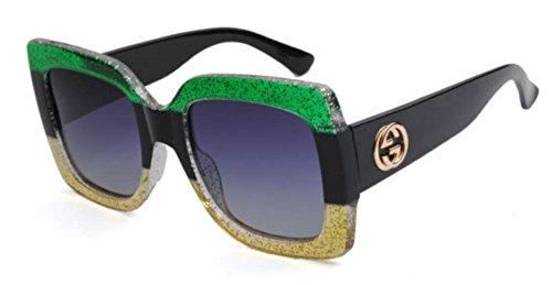 Mujer De Gafas D Sol De Tri Color Gafas De De Viaje De Sol De Conducción wqS0F7Y
