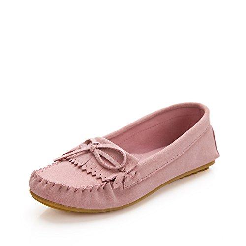 Zapatos Mujer Primavera/Casuales zapatos planos/Zapatos de Doug/Arco zapatos de flujo suping A