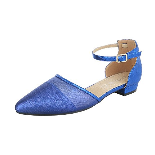 Ital-Design Women's Closed Blue vek5feeo9