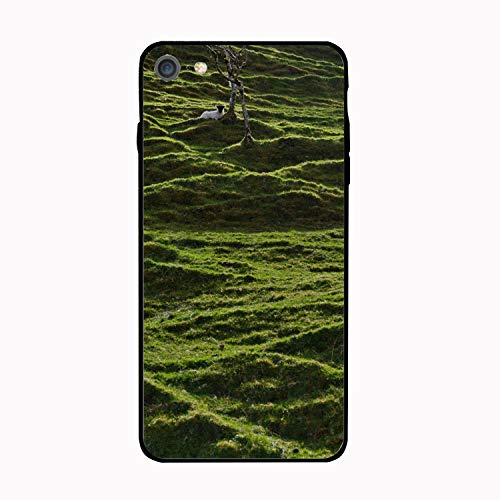 - iPhone 6/6s Case,Personalized Little Sheep in The Moss Floral Print PC Cellphone case for [4.7 inch]