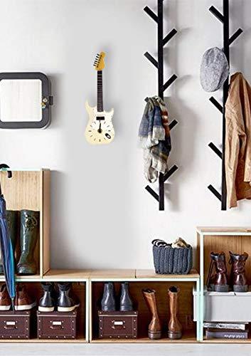 Blanco Fender Stratocaster Guitarra eléctrica reloj de pared (wc222): Amazon.es: Hogar
