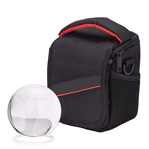 MerryNine Crystal Ball with Ball Case Bag Set, K9 Crystal Photography Ball, Including Microfiber Pouch and Ball Manual, Perfect Photography Accessories (90mm/3.54
