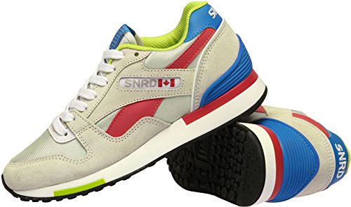 Up Fashion Gray Sneakers Women SNRD Red Sports Shoes 702 Blue Lace Casual wF1qn4It6