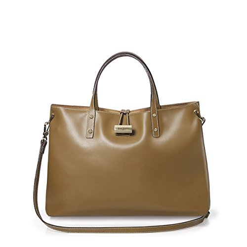 Eric Javits Luxury Fashion Designer Women's Handbag - Cheri - Olive by Eric Javits