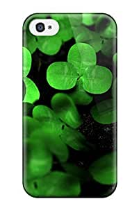For ipod touch 4 Protector Case Clover Phone Cover