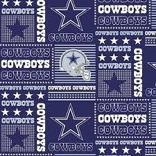 DALLAS COWBOYS COTTON FABRIC-NFL DALLAS COWBOYS 100% FABRIC-SOLD BY THE YARD (Cowboys Dallas Fabric)