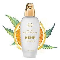 O Naturals Anti-Aging Vitamin C Face Serum with Organic Hemp
