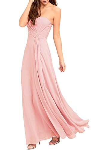 bridesmaid dresses by color pink - 2
