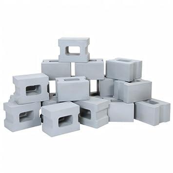Foam Cinder Block Builders (Set of 20)