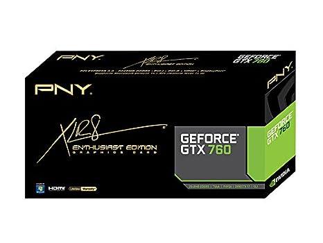 PNY VCGGTX7602XPB GeForce GTX 760 2GB GDDR5 - Tarjeta ...