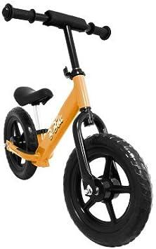 Kawin Bicicleta sin Pedales para Niños Color Naranja: Amazon.es: Juguetes y juegos