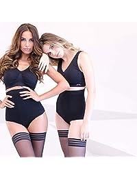 360 sexy body sin tirantes fajas con bragas delgadas de control de barriga de cintura alta