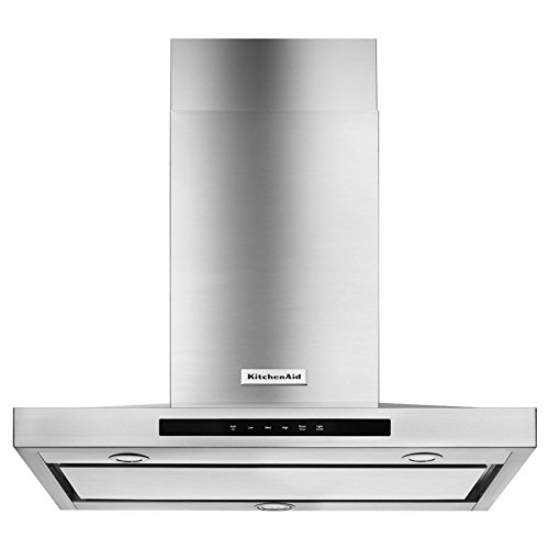 KitchenAid KVWB600DSS 30 Inch Stainless Steel Wall-Mount Canopy Hood