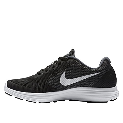 NIKE Kids Revolution 3 (GS) Running Shoes Graphite-white-black 2zjkwnYT5X