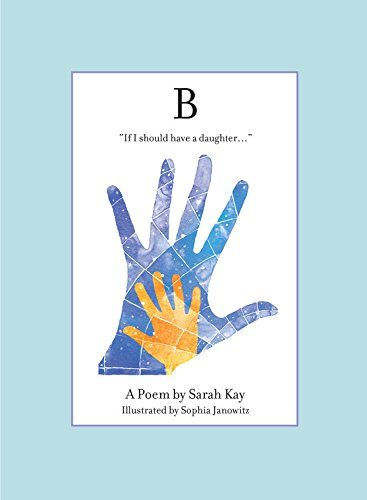 B (Sarah Kay Best Poems)