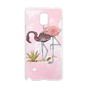 Be A Flamingo In A Flock Of Pigeons Samsung Galaxy Note 4 Cell Phone Case White 6KARIN-170306