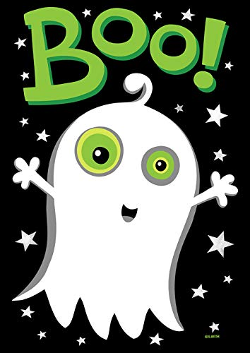 Toland Home Garden 1112237 Boo Ghost 12.5 x 18 Inch Decorative, Garden Flag (12.5
