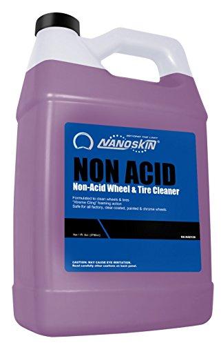 Nanoskin (NA-NAD128) Non Acid Non-Acid Wheel & Tire Cleaner - 1 Gallon