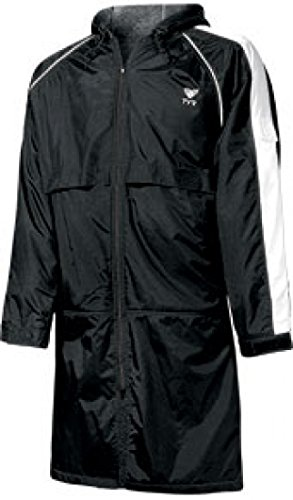 TYR 1WASP2YL Youth Alliance Parka, Black, Large by TYR
