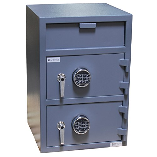 SD-04EE Mamba Vault Dual Compartment Drop Safe w/Electronic Locks