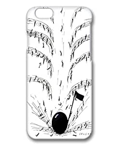 iphone 6plus case,iphone 6plus PC 3D fashion colorful custome design case,Illustrators Series Protective PC Case,Scratch Resistant,Perfect Fit with Aesthetic Print Back Cover for 5.5 inches iPhone 6plus,shooting musicMaris's Diary