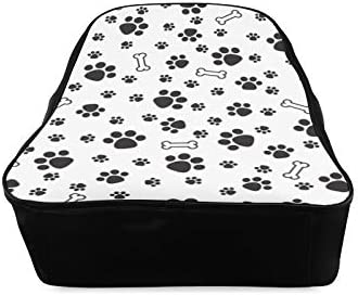 Bone White Little Cartoon College Bag For Women Fashion Bag For Girls School Bags For Girls Print Zipper Students Unisex Adult Teens Gift